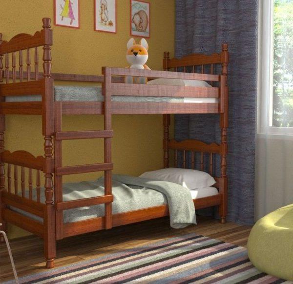 Кровать 2-ярусная Соня орех