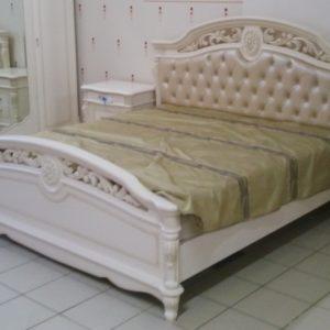 Кровать Афина крем