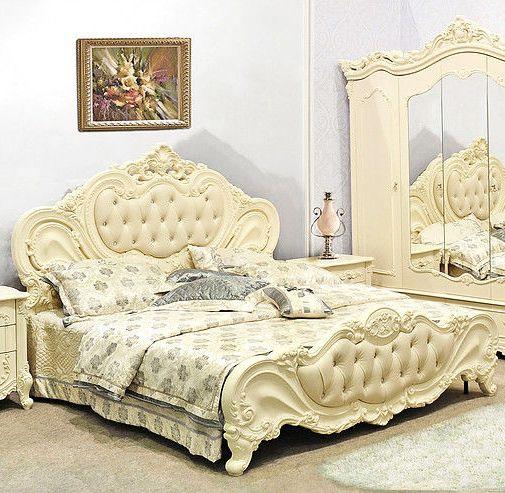 Кровать Элиза крем