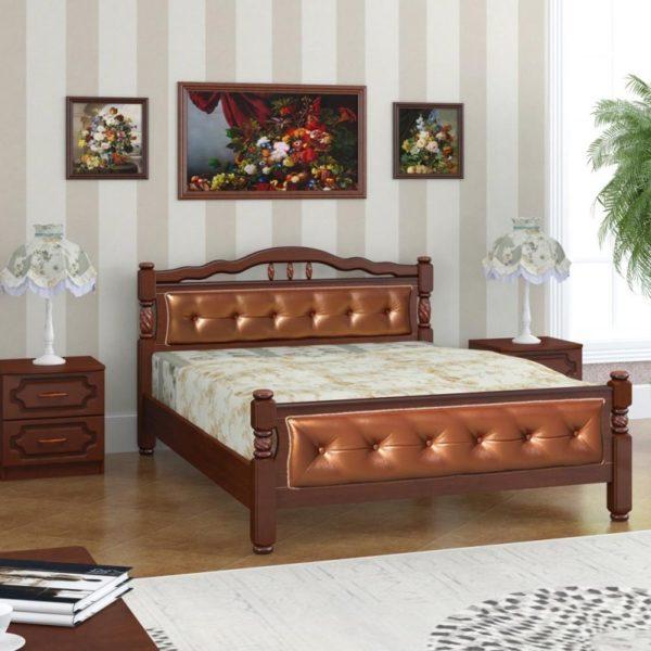Кровать Карина-11 орех