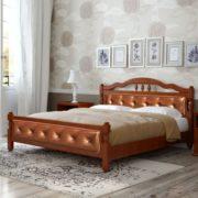 Кровать Карина-11 орех (фото)