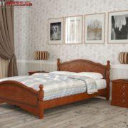 Кровать Карина-12 орех фото