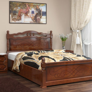 Кровать Карина-14 орех с подъемным механизмом