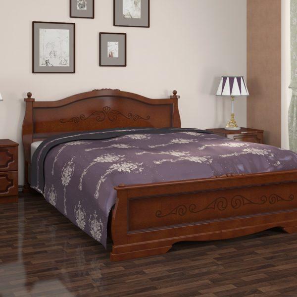 Кровать Карина-2 орех