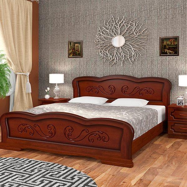 Кровать Карина-8 орех