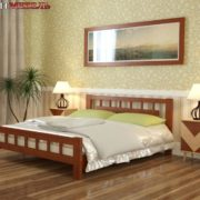 Кровать Натали-5 орех