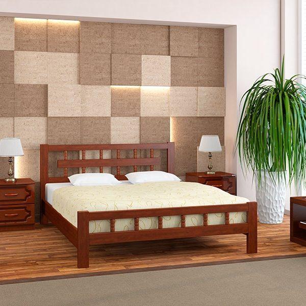 Кровать Натали-5 цвет орех