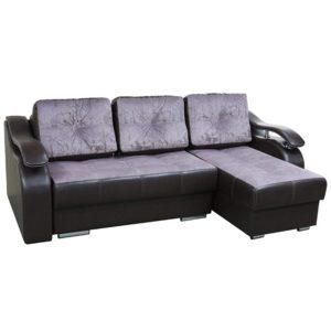 Милан диван-кровать угловой (Provance Lilak)