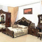 Набор мебели для спальни «ДЖОКОНДА» (орех)