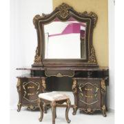 Набор мебели для спальни «ДЖОКОНДА» (орех) (фото-4)