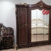 Набор мебели для спальни «ДЖОКОНДА» (орех) (фото-7)