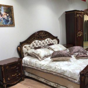 Кровать Даниэлла орех