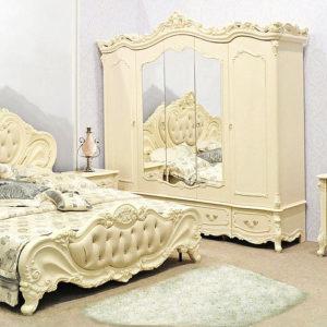 Спальня Элиза 5дв. крем