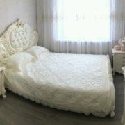 Спальня Элиза Люкс крем кровать
