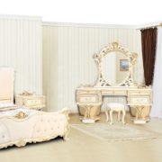 Спальня Каролина крем