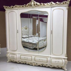Спальня Каролина крем (фото-2)