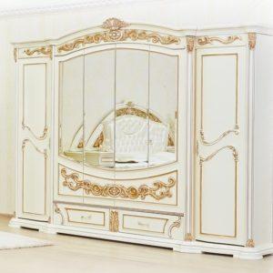Спальня Латифа крем шкаф