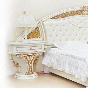 Спальня Латифа крем тумбочка