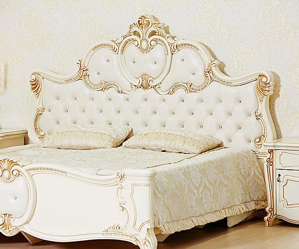 Кровать Лорена крем