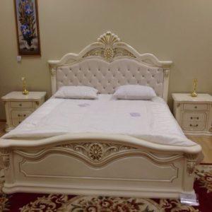 Кровать Меланж крем (фото-2)