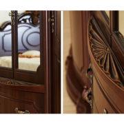 Спальня Меланж орех (3)