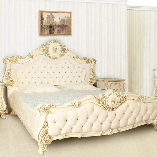 Спальня Монреаль крем кровать
