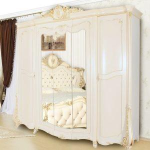 Спальня Монреаль крем шкаф