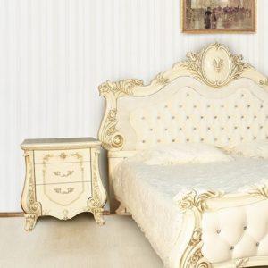 Спальня Монреаль крем тумбочка