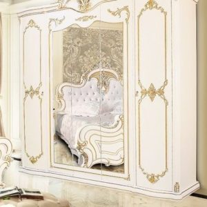 Спальня Верона крем шкаф