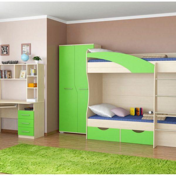 Детская радуга зеленая