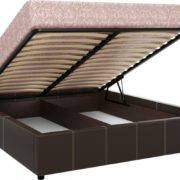 Кровать интерьерная Герта подъемный механизм