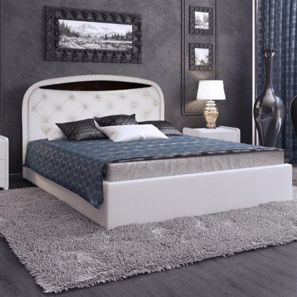 Кровать из экокожи Валенсия-1