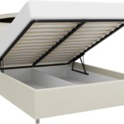 Кровать из экокожи Валенсия-1 с подъемным механизмом
