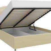 Кровать из экокожи Валенсия с подъемным механизмом