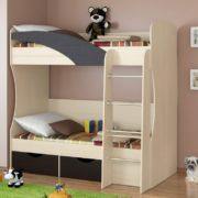 Кровать радуга венге