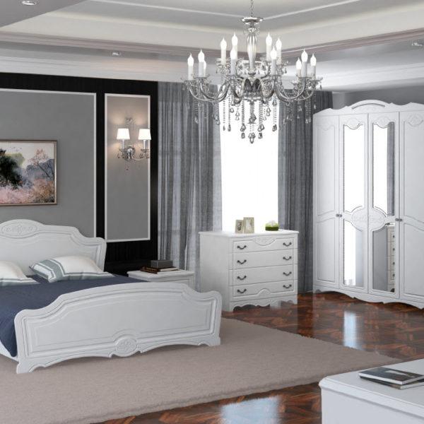 Спальня Лотос белая