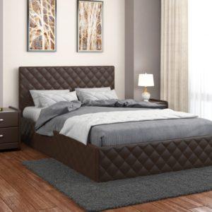 Кровать с мягким изголовьем Рондо