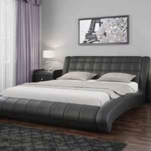 Кровать с мягким изголовьем Шарлотта