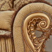 Набор мягкой мебели «ЛОРД» золото орех табло бежевый (4)