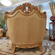 Набор мягкой мебели «ЛОРД» золото орех табло бежевый (8)