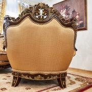 Набор мягкой мебели «ЛОРД» золото валей голд (10)