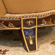 Набор мягкой мебели «ЛОРД» золото валей голд (11)