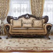 Набор мягкой мебели «ЛОРД» золото валей голд