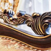 Набор мягкой мебели «ЛОРД» золото валей голд (6)
