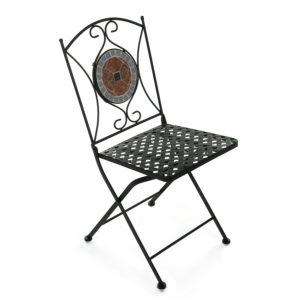 Кованый стул Secret De Maison «Джулия» (Julia) (плитка «Квадрат»)