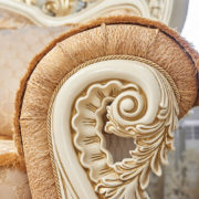 Набор мягкой мебели «ЛОРД» крем золото неаполь голд (10)