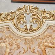 Набор мягкой мебели «ЛОРД» крем золото неаполь голд (5)