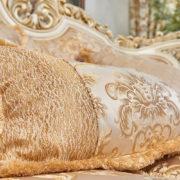 Набор мягкой мебели «ЛОРД» крем золото неаполь голд (7)
