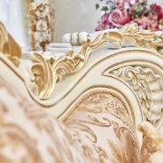 Набор мягкой мебели «ЛОРД» крем золото неаполь голд (8)