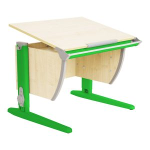 Парта Дэми СУТ-14 75см клен-зеленый (1)